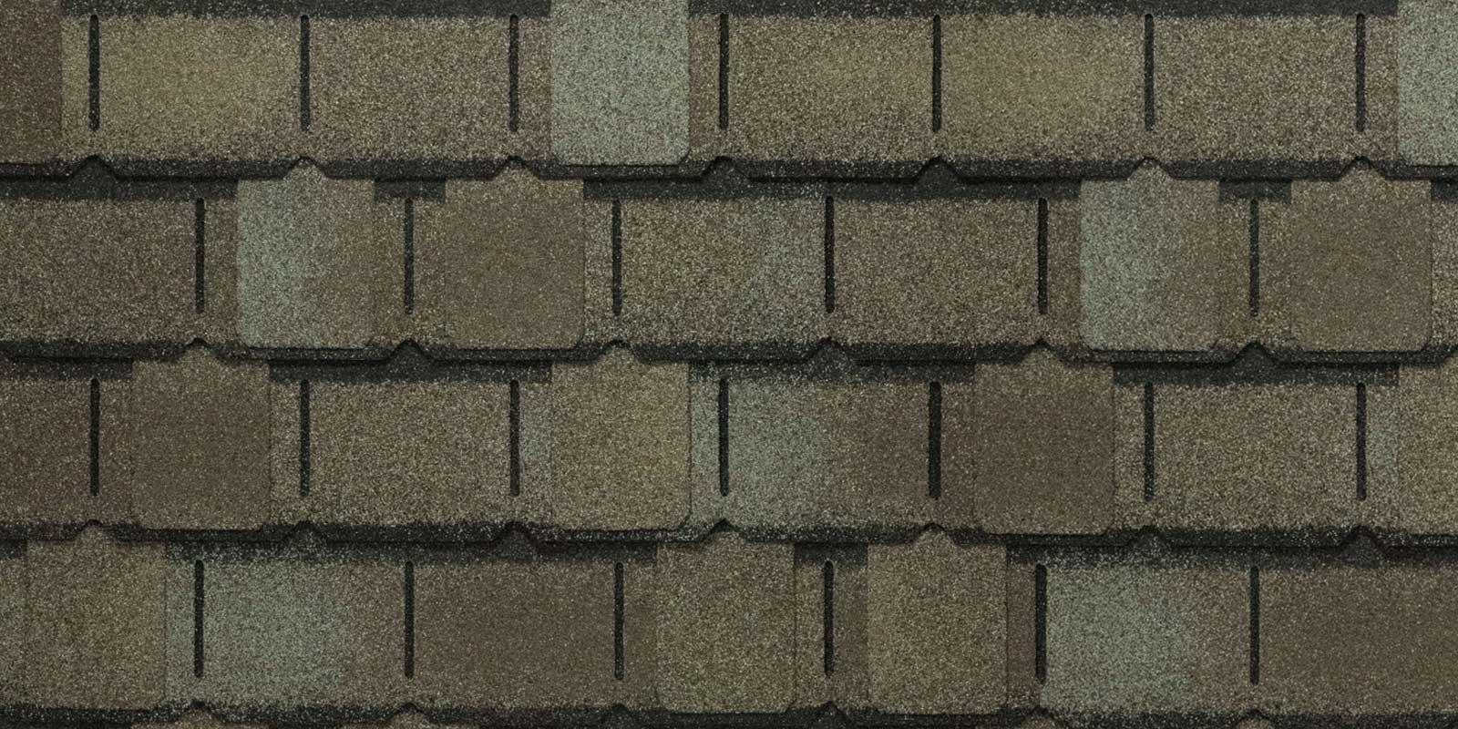 Zdjęcie produktu jakim jest gont bitumiczny amerykańskiej firmy GAF z linii Camelot 2, pokrycia dachowe
