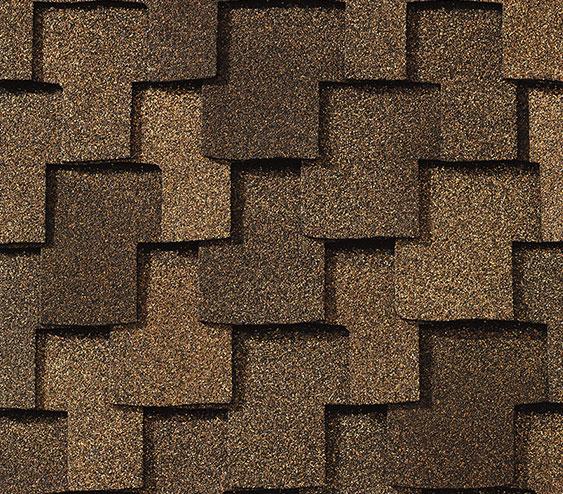 zdjęcie gontu amerykańskiego klasy premium marki GAF z linii Grand Sequoia w kolorze Cedar
