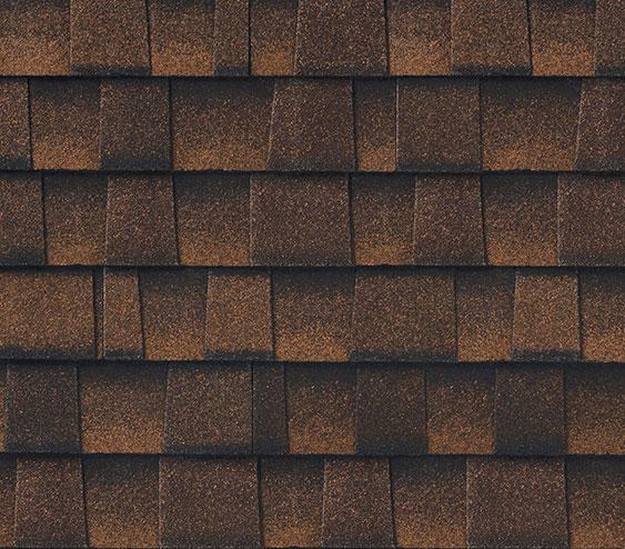 zdjęcie gontu premium timberline ultra hd dual shadow w kolorze hickory