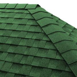 Dachówka kalenicowa do gontu GAF Timberline HDZ Hunter Green