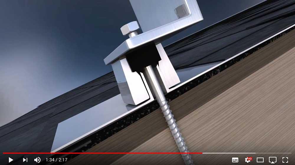 Film - technologia stojaka pod rusztawoania i panele fotowoltaiczne i solary