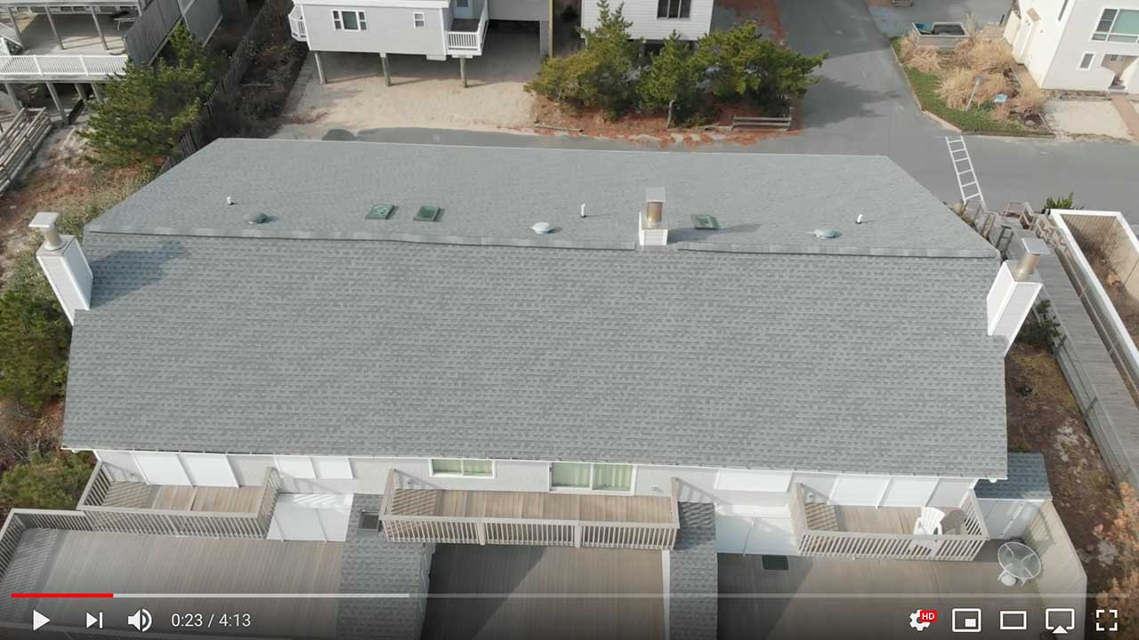Dach pokryte gontem GAF Timberline® HD™ w kolorze Oyster Gray