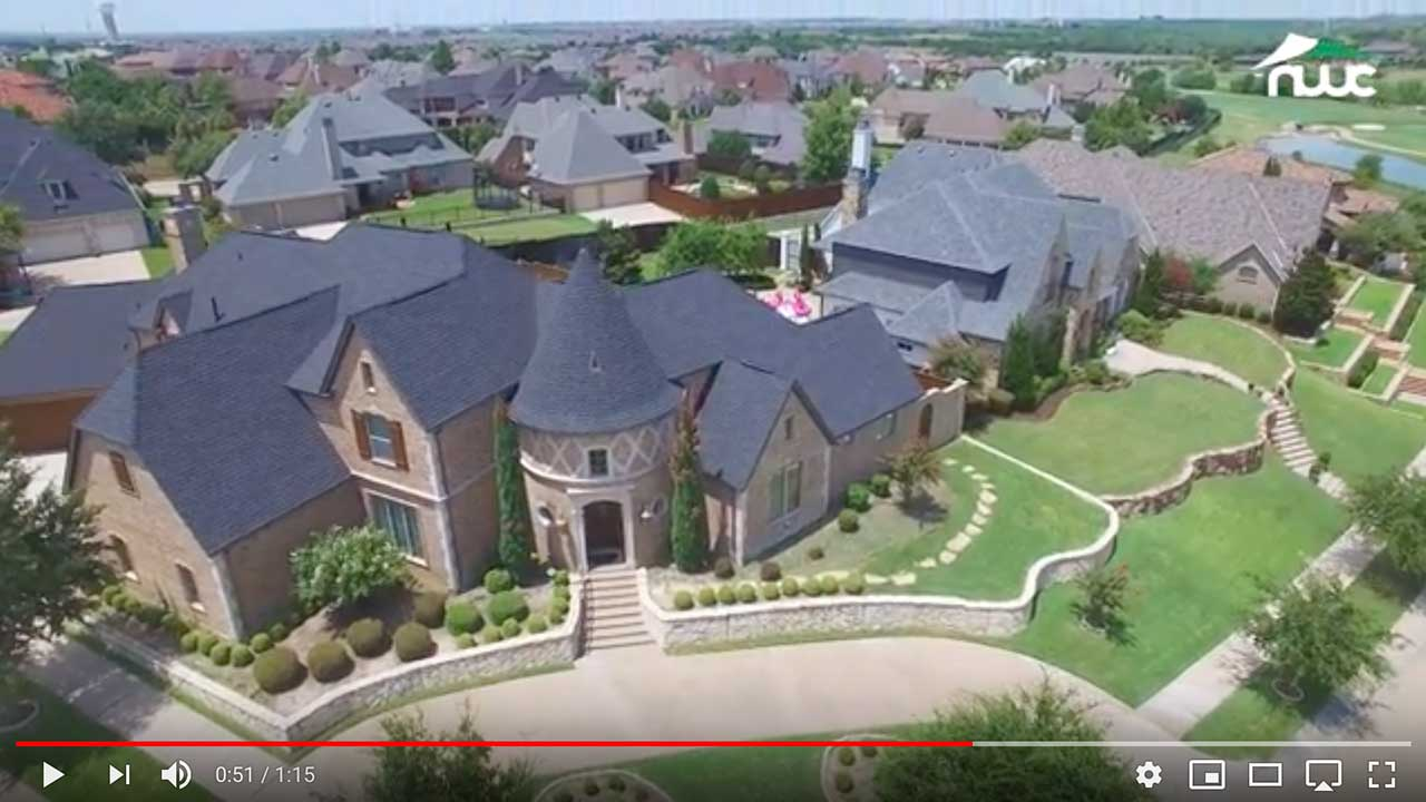 Dach pokryte gontem GAF timberline® HD™ w kolorze Charcoal