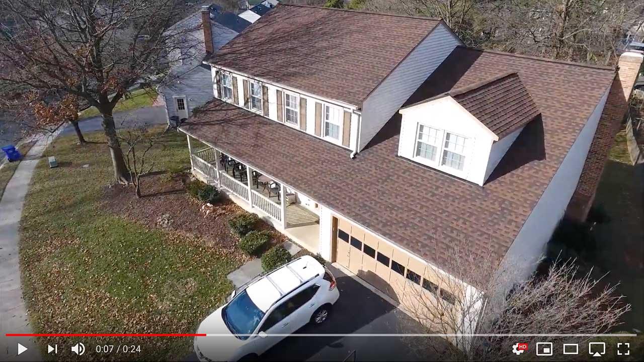 Dach pokryte gontem GAF Timberline® HD™ w kolorze Hickory
