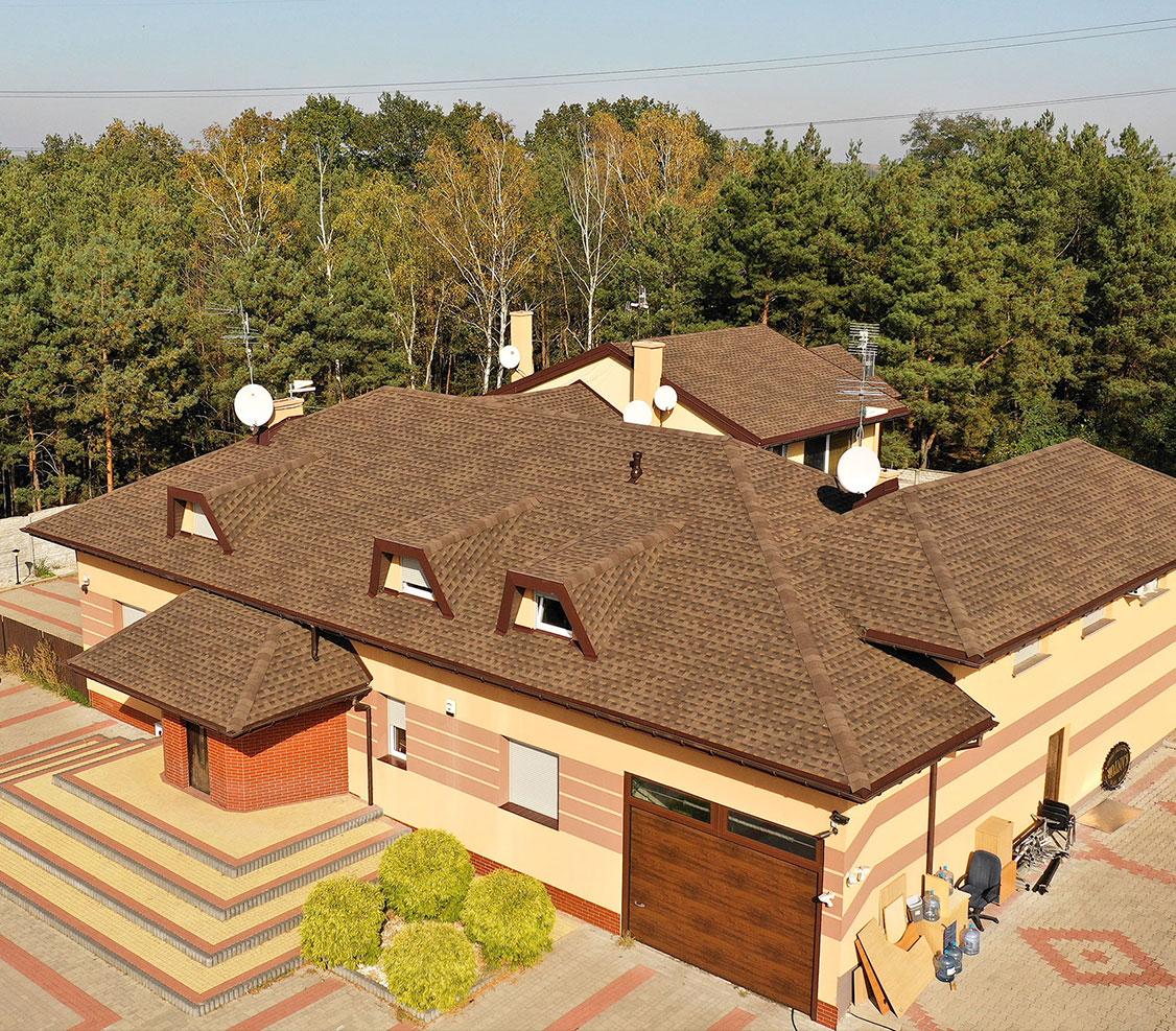 amerykański gont gaf, pokrycia dachowe, timberline hd w kolorze barkwood