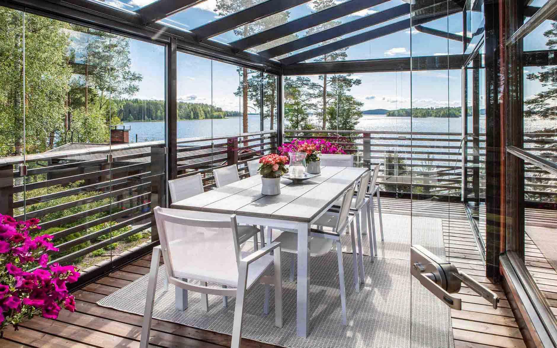 acristalamiento de porche para difrutar en verano y en invierno,seguridad y calidad 2019