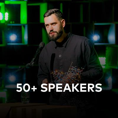 50 Speakers