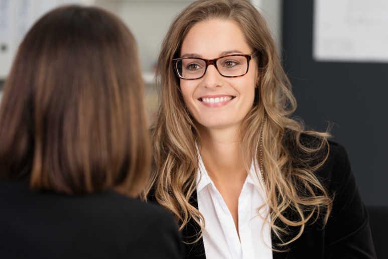 Smiling Customer - Mitarbeiter Coaching