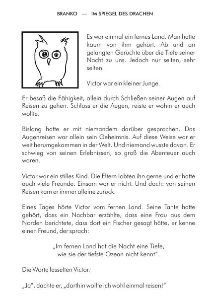 Im Spiegel des Drachen Branko Stahl Märchen Romane Lyrik