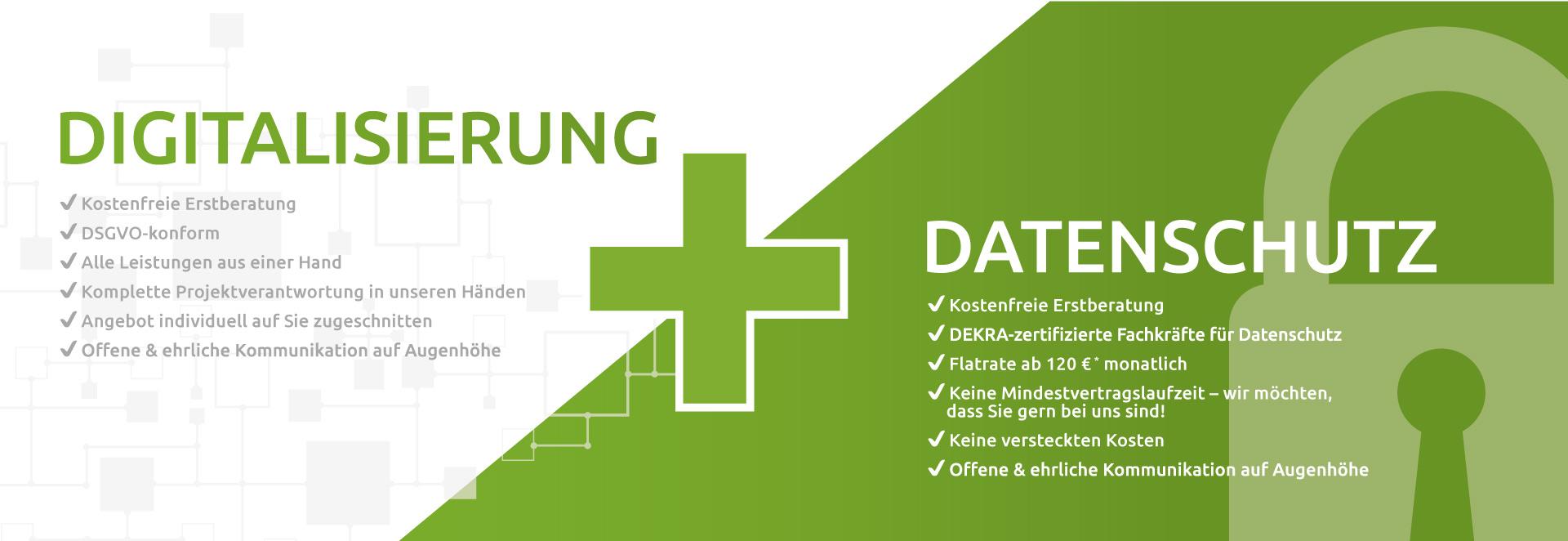 Digitalisierung und Datenschutz