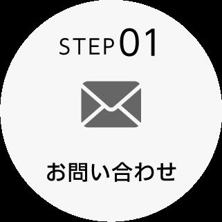 STEP01:お問い合わせ