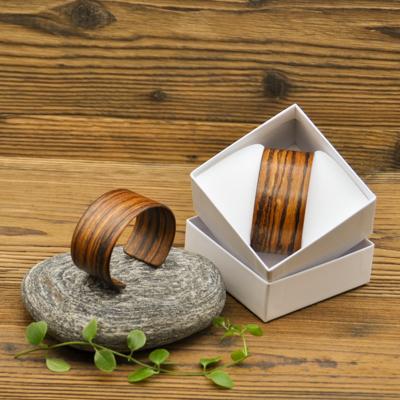 Holzarmreifen Holzschmuck