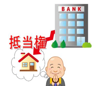 相続登記をしたい不動産に、被相続人様が債務者として返済中の抵当権が残ったままの方