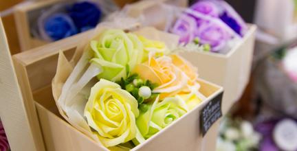 長崎で人気の花屋 花飾人かなざわがおすすめするソープフラワーの紹介