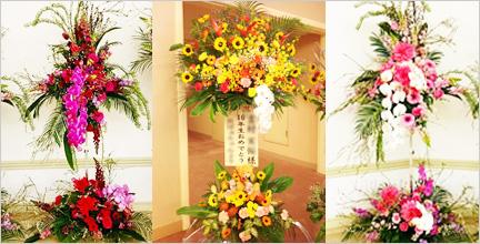 長崎で人気の花屋 花飾人かなざわがおすすめするスタンド花の紹介