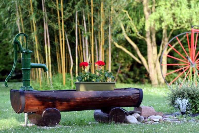 Krause - Technik für Ihren Garten, Garten-Rammbrunnen