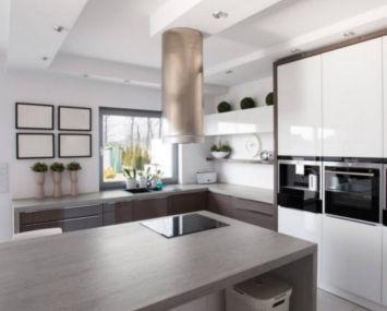 LMT Design - Küche mit Keramik Arbeitsplatte
