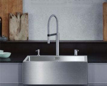 LMT Design - Edelstahl Küchenspüle und Armatur