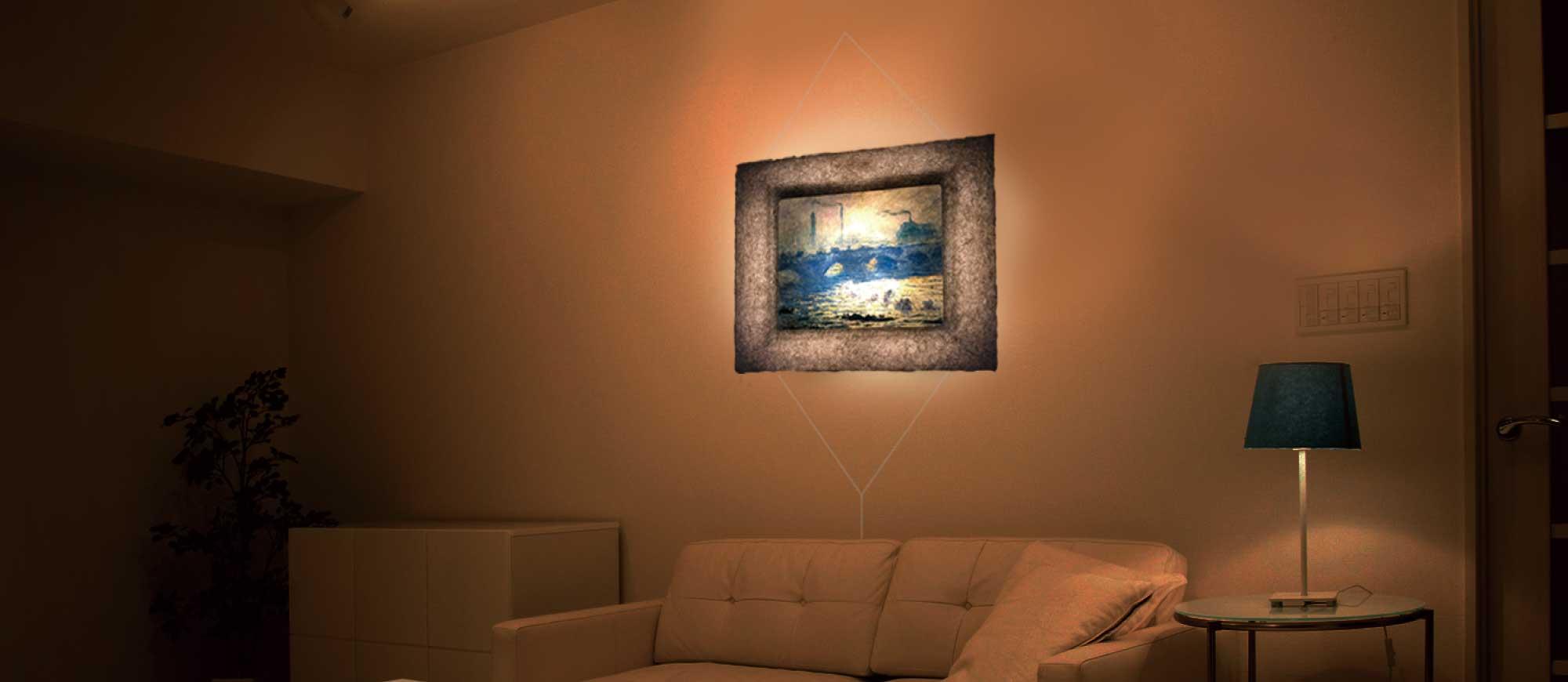 ワイヤーは壁掛け和紙ックフォトフレームの付属品