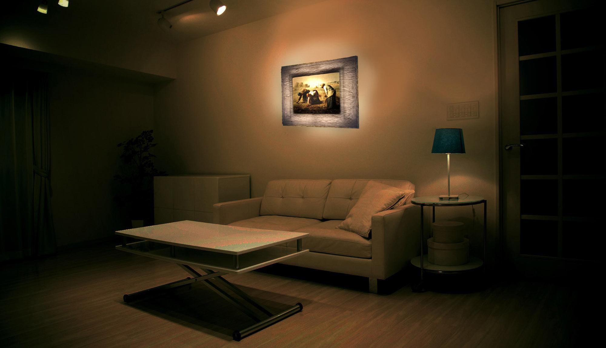 和紙ックはインテリア性の高い間接照明にもなります