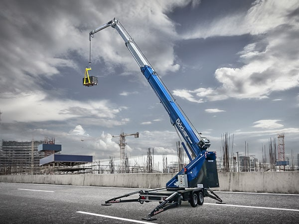 Anhängerkran AHK 36/2400 3600 kg Tragkraft mieten bei Spexlift