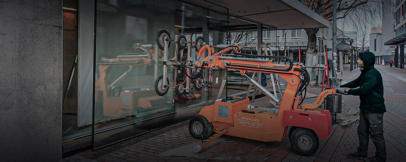 Glaslifter, Glasroboter und Glasmontagelift- Smartlift, Winlet, KS Robot