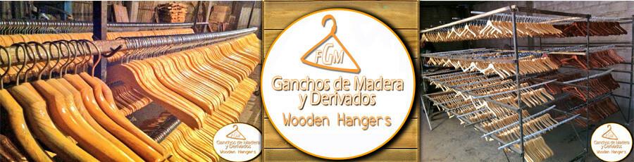 Ganchos de madera para ropa y derivados fabrica de for Madera para colgar ganchos