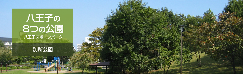 八王子の8つの公園 八王子スポーツパーク 別所公園