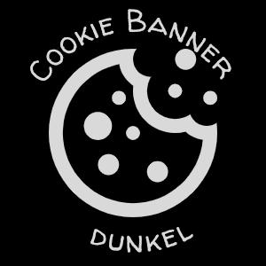 Grafik Cookie Banner dunkel
