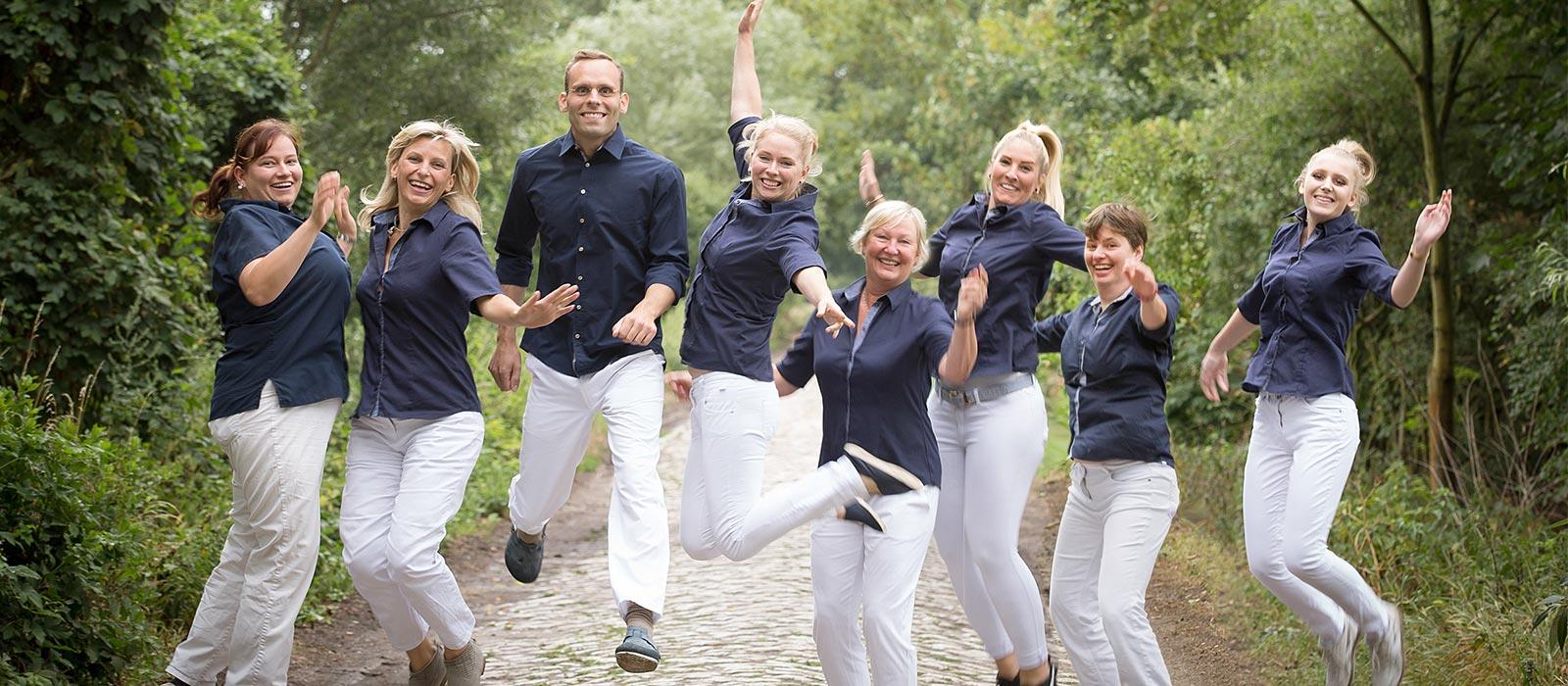 Zahnarztpraxis Dr.Gune in Dallgow-Döberitz - Das Team der Zahnarztpraxis Dr.Gune
