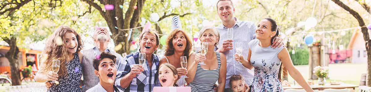 Fotobox für Familienfeiern mieten