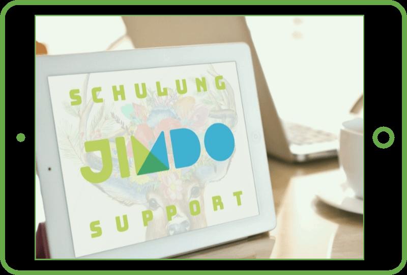 Jimdo Schulung und Support