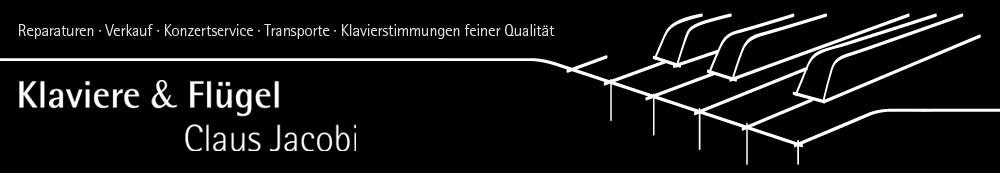 Klaviere & Flüegel - Claus Jacobi