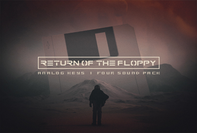 Return Of The Floppy Sound Pack Analog Four MKII MKI Compatible Sound Pack Sound Bank Elektron music Machines Synthesizer Free patch download patches floppydisk pirates set bundle