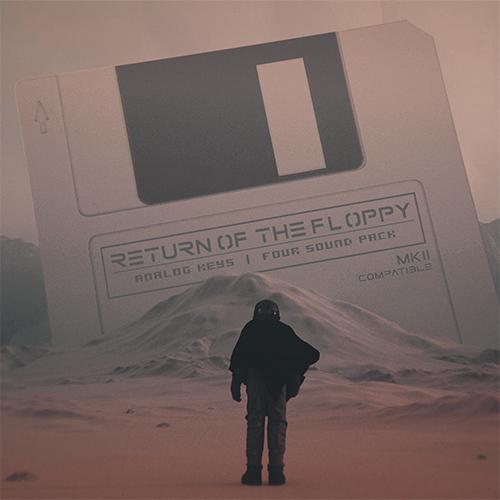 return of the floppy sound pack for Analog Keys Four MKII MK2 MK1 MKI by floppydisk pirates