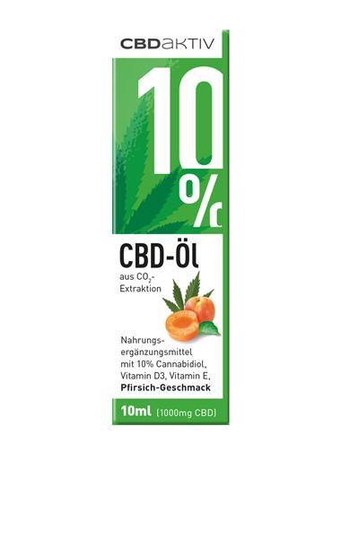 CBD-Öl mit Geschmack 10%