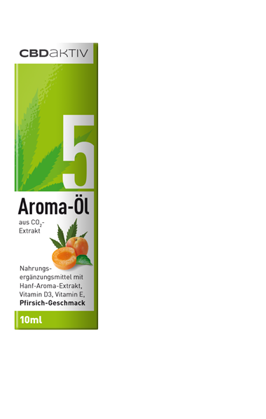 CBD-Öl mit Geschmack 5%