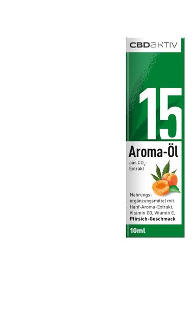 CBD-Öl mit Geschmack 15%