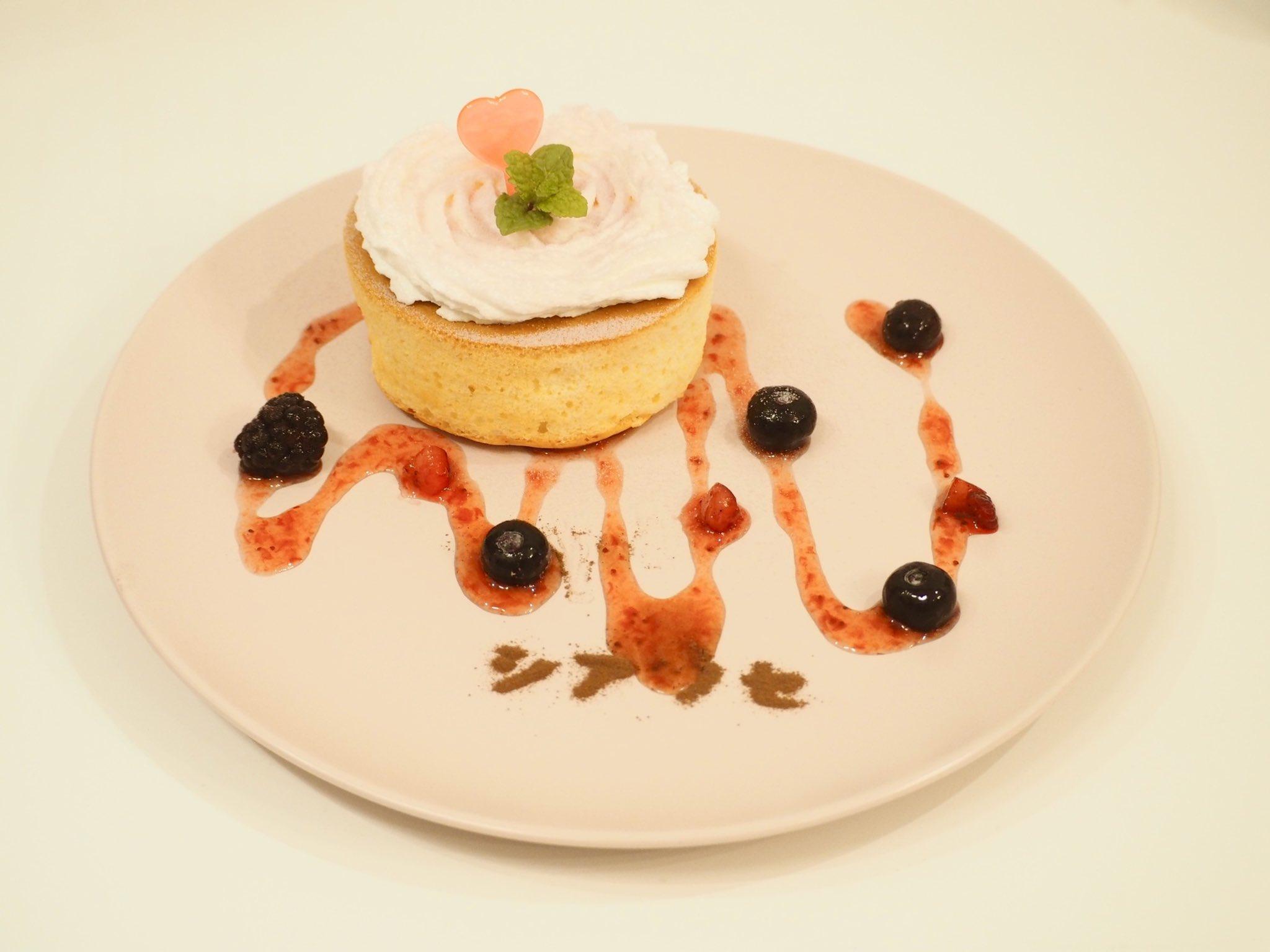 幸せいっぱい!ピンクのパンケーキ