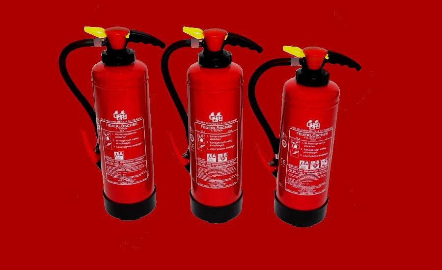 GGS Brandschutz Feuerlöscher retten Leben, unsere Produkte für Vorbeugung und Bekämpfung von Bränden