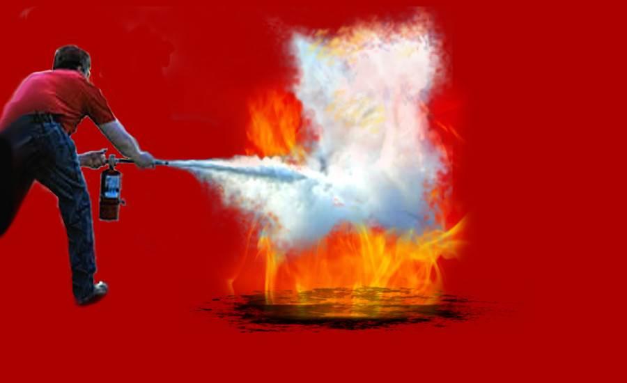 Brandschutzübung bei GGS Brandschutz