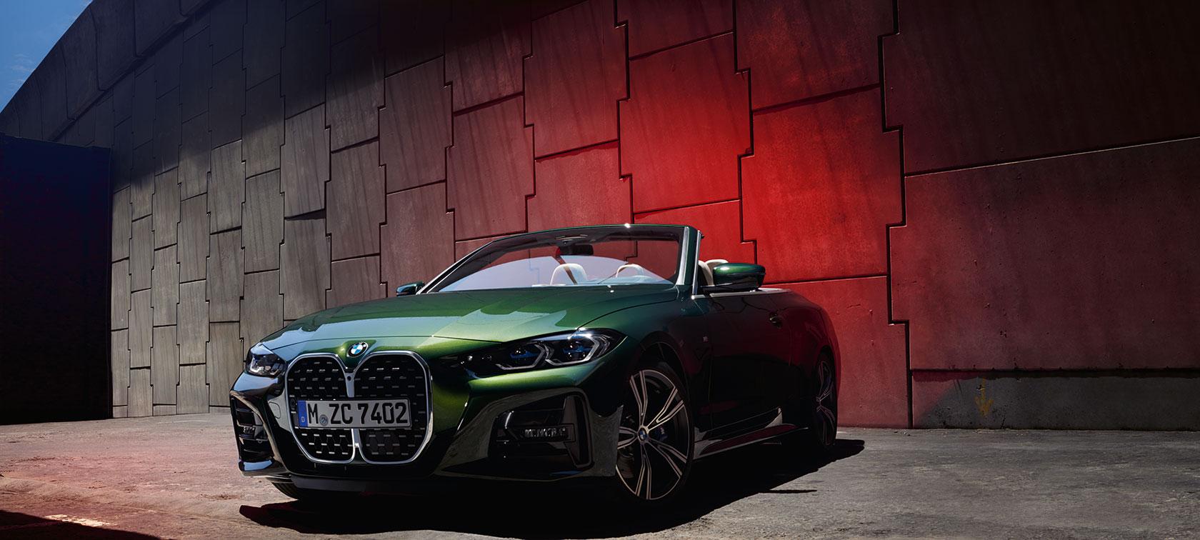 THE 4. BMW 4er Cabrio.
