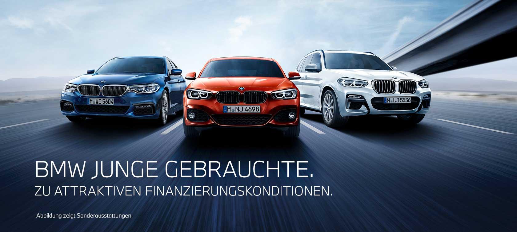 Junge Gebrauchte Automobile, Jahreswagen, BMW, Gebrauchtwagen
