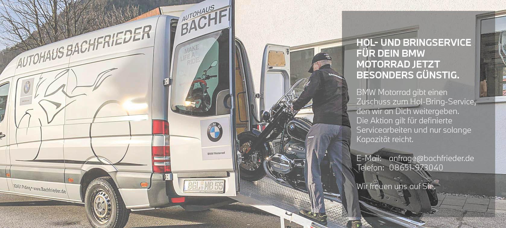 Hol-Bringservice BMW Motorrad