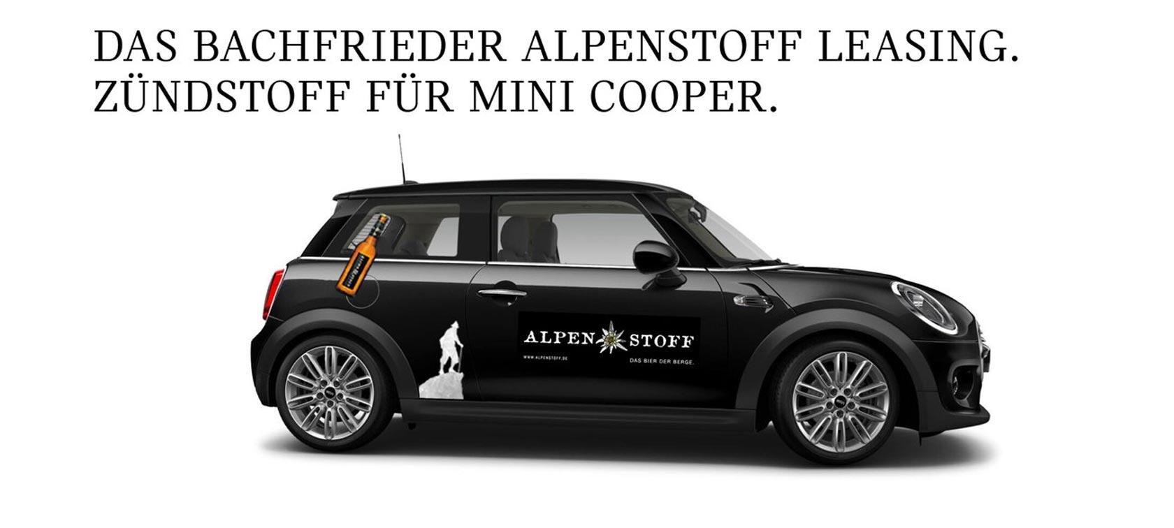 MINI Alpenstoff, one, cabrio, clubman, jcw, cooper, angebot, pkw, audi, mercedes, vw