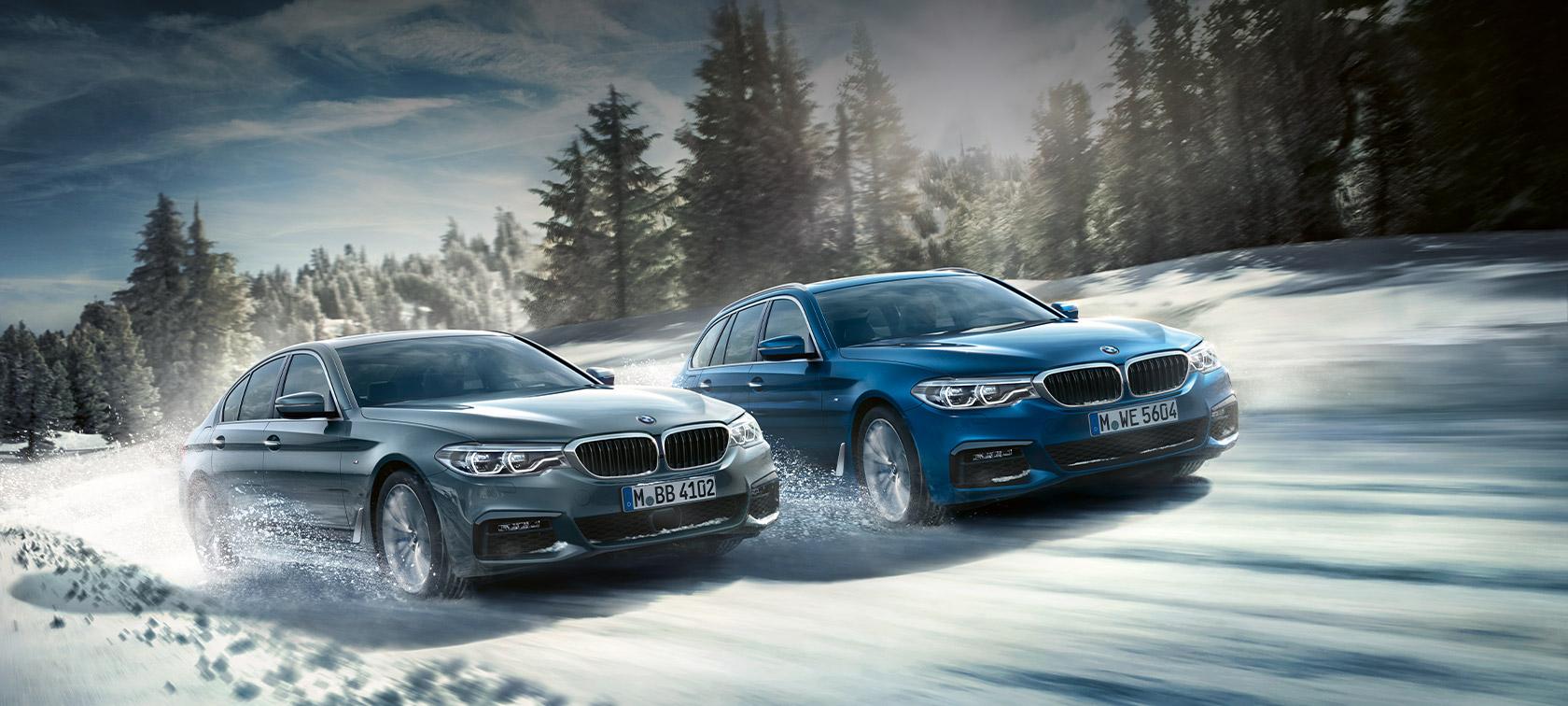The 5 DIE BMW 5er MODELLE ZU ATTRAKTIVEN KONDITIONEN. EINLADUNG ZUM JAHRESSTART AM 11. JANUAR 2020.