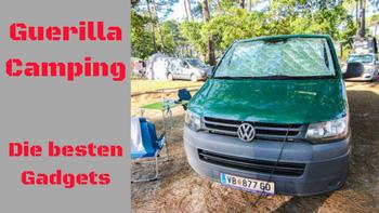 Guerilla Camping Gadgets by Lifetravellerz