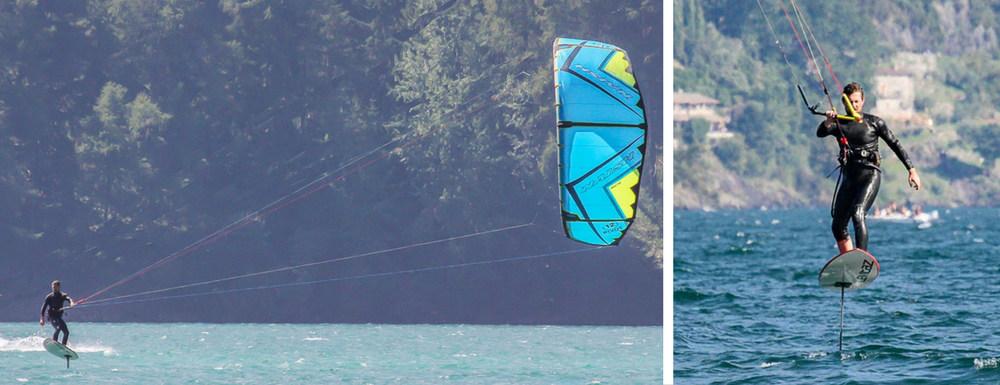 Kitesurfen mit Naish Pivot 2017 und Levitaz Element kitefoil-Lifetravellerz