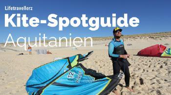 Kitespotguide Aquitanien, Kitesurfen in Frankreich by Lifetravellerz