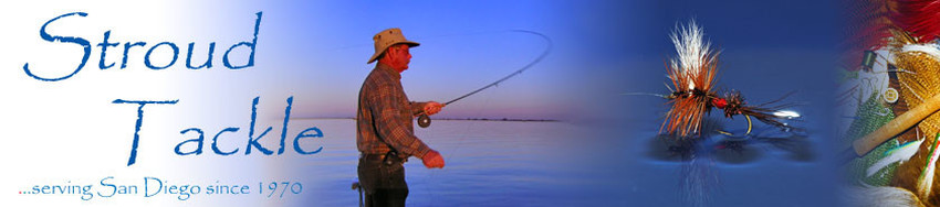 Surf zone stroud tackle san diego fly fishing equipment for Surf fishing san diego